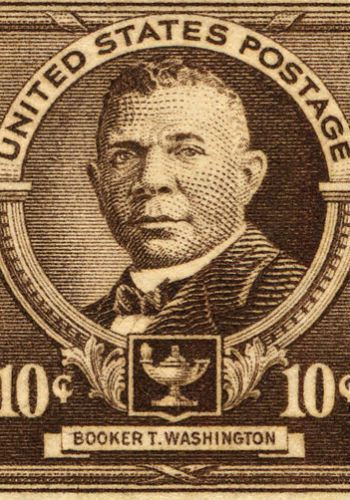 On April 7, 1940, Booker T. Washington became the first African American to be honored on a U.S. postage stamp.