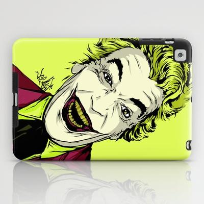 Joker On You 2 iPad Case by Vee Ladwa - $60.00