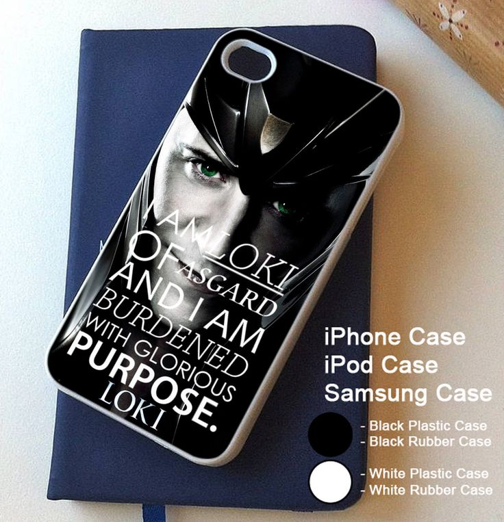 Avengers Loki Quote For iPhone 4 4s 5 5s 5c 6 6s 6+ 6s+ Samsung Galaxy Case