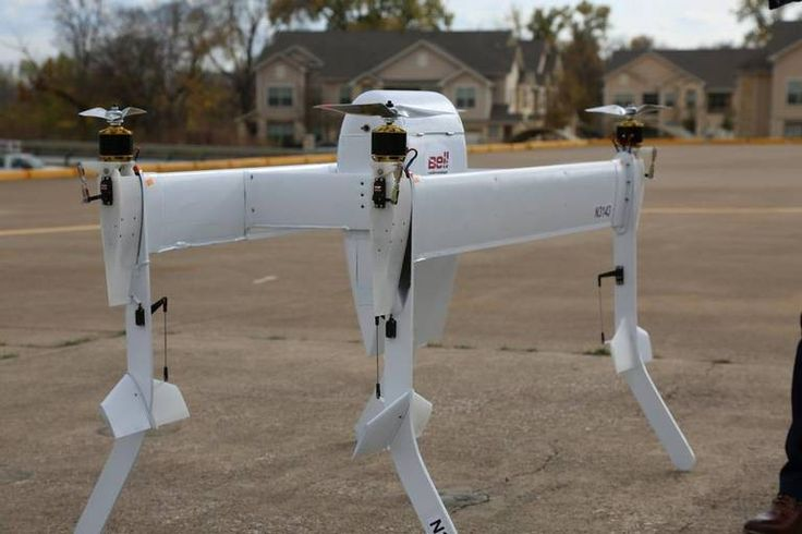 A very complicated looking transitioning delivery drone from helicopter manufacturer Bell was revealed in Fort Worth on Monday. Speaking to Bill Hanna of the Fort Worth Star-Telegram, Bell's director…