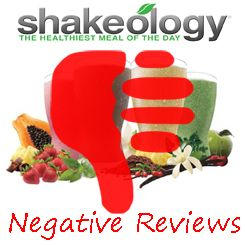 Forget the fluffy Shakeology reviews, lets get into some real negative Shakeology reviews. Find the NEGATIVE SIDE EFFECTS & the DOWNSIDES TO SHAKEOLOGY!