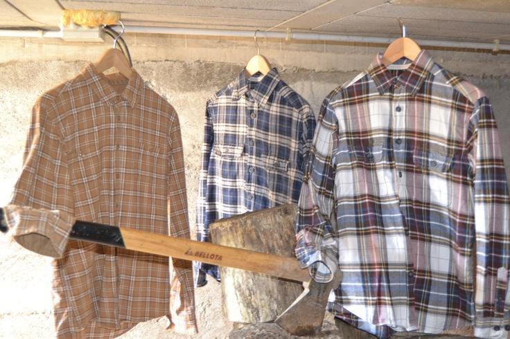 Look leñador para hombre. www.landoigelo.com.es