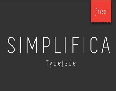 "Consulta este proyecto @Behance: ""SIMPLIFICA Typeface | Free"" https://www.behance.net/gallery/14209843/SIMPLIFICA-Typeface-Free"