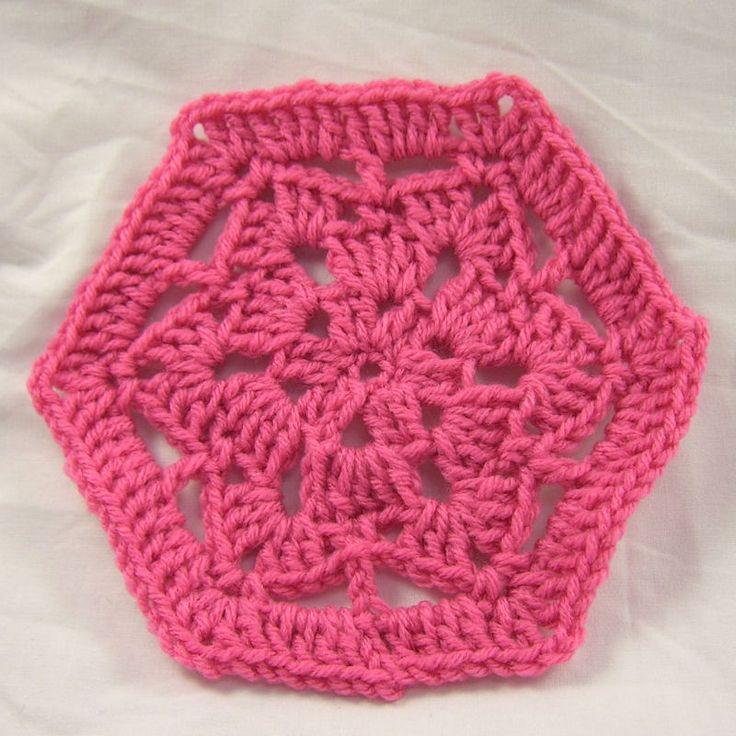 121 besten Crochet Stars, Snowflakes, & Hexagons Bilder auf ...