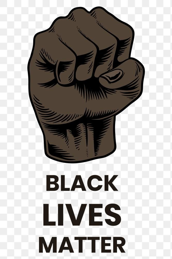 Raised Fist For The Black Lives Matter Movement Social Template Free Image By Rawpixel Com Social Templates Black Lives Black Lives Matter Movement