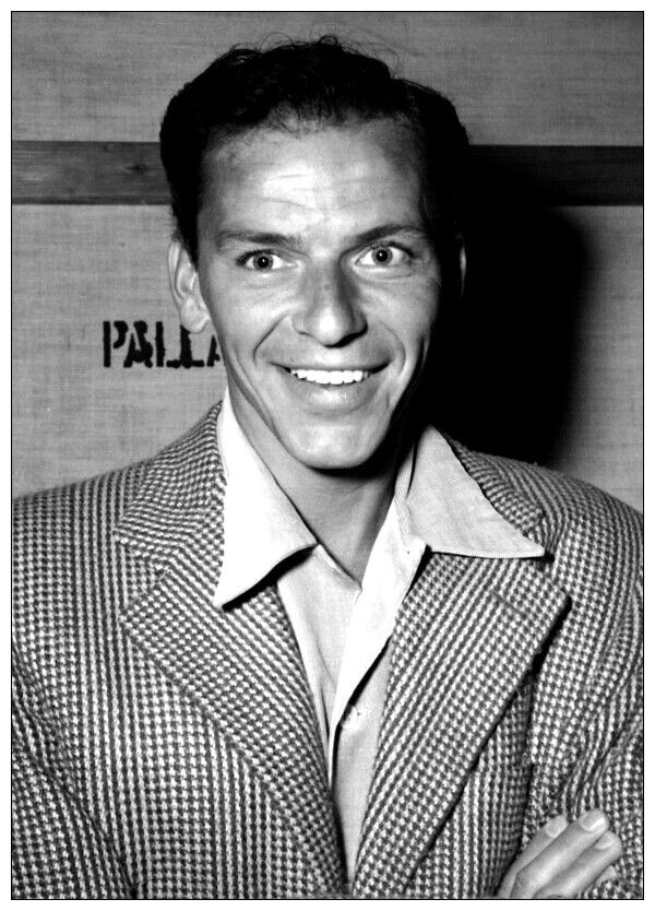 Frank Sinatra - A talented man with a height of 5'7''. Despite his shortness and self-consciousness, Frank Sinatra remains today one of the most iconic men in Hollywood, entertainment, music, and most importantly fashion.