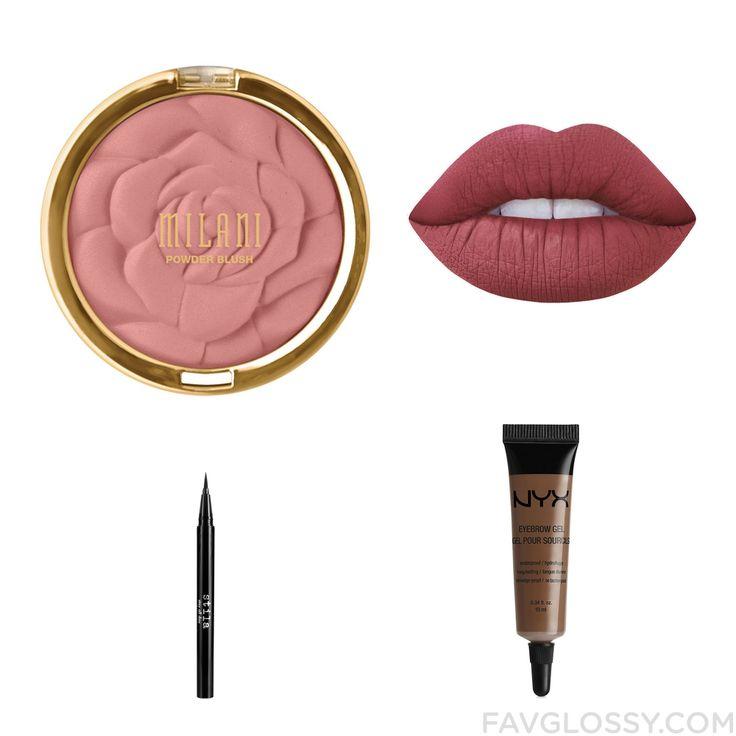 Makeup Post With Milani Blush Lime Crime Nyx Eye Makeup And Stila Eyeliner From November 2016 #beauty #makeup