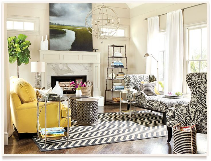 Real Simple Living Room | Ballard Designs