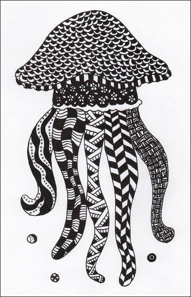 115 Best Zentangle Fish Images On Pinterest