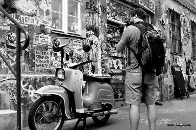 Πάμε για καφέ στην Hackescher Markt με τον Στάθη Τραπεζανλίδη