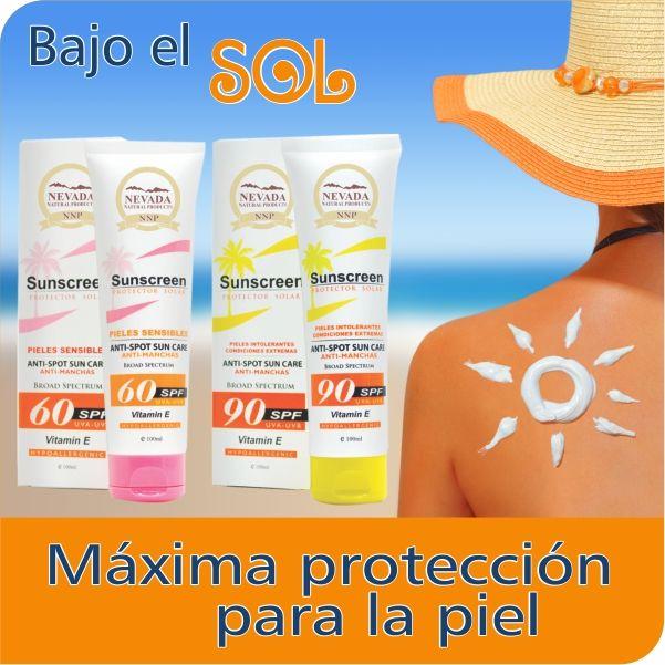 Protege tu piel del sol! No olvides reaplicar cada dos o tres horas.