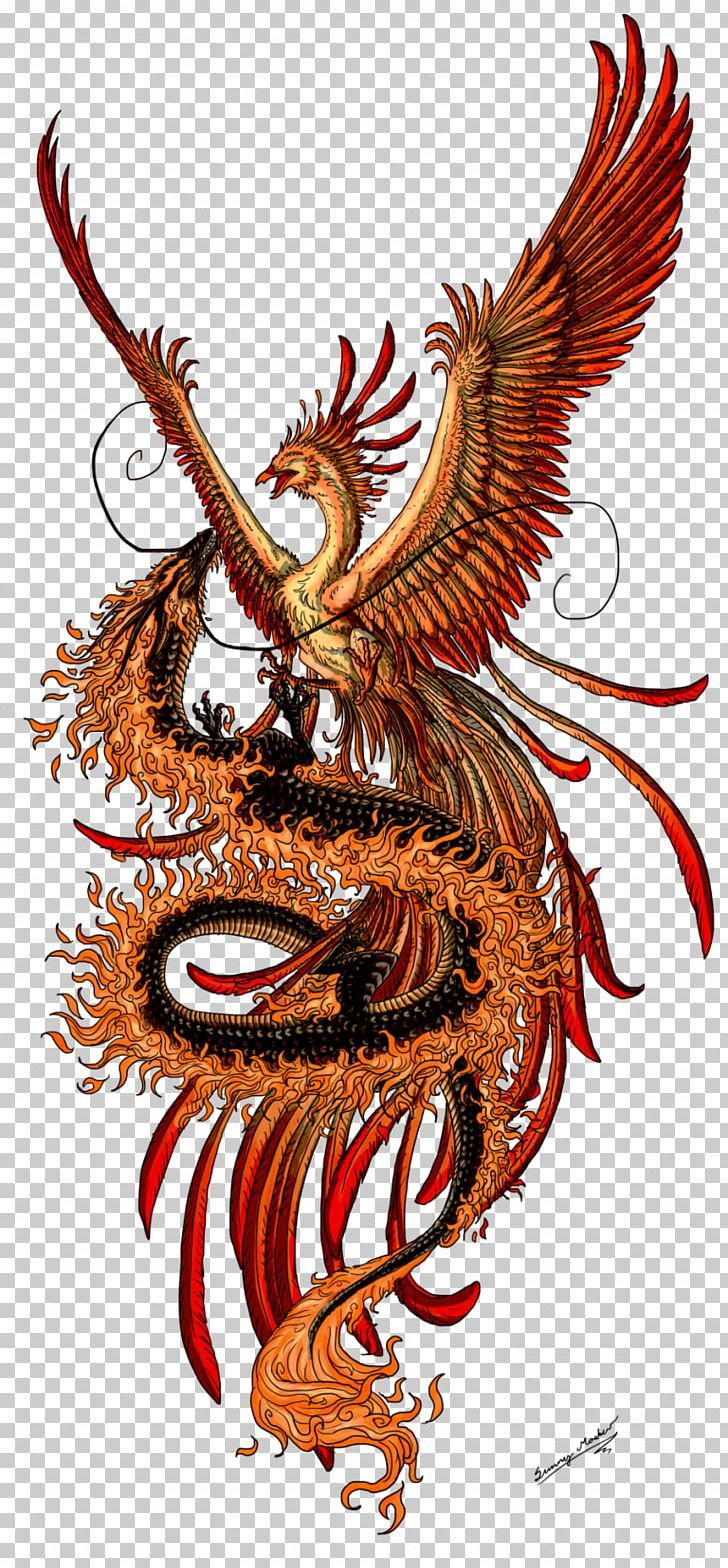 Phoenix Fenghuang Chinese Dragon Tattoo Png Clipart Art Chinese Dragon Demon Dragon Fantasy Free Dragon Tattoo Chinese Dragon Tattoos Chinese Dragon Art