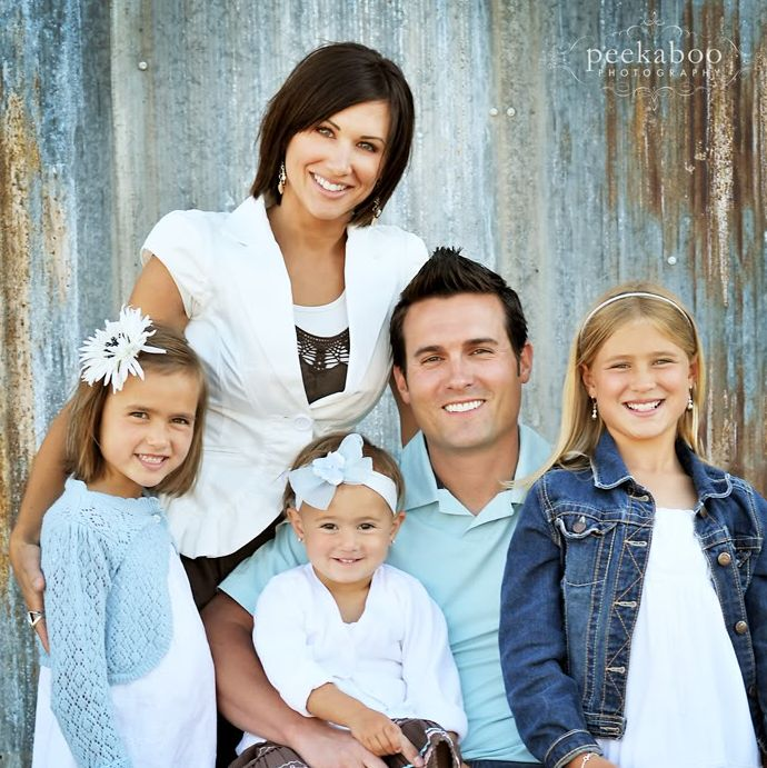 Family Photo Ideas Blue