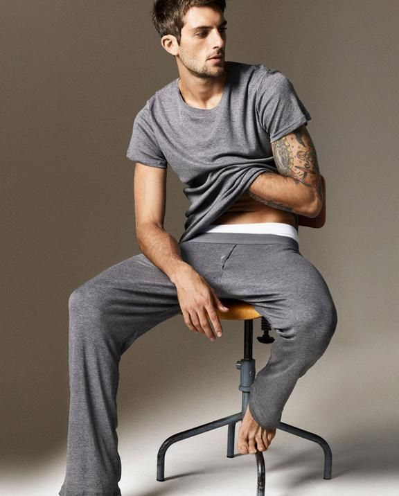 100/100  Love these, my man looks good in lounge wear
