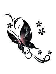 5 stuks vlinder waterproof tijdelijke tatoeage (6cm * 6cm)