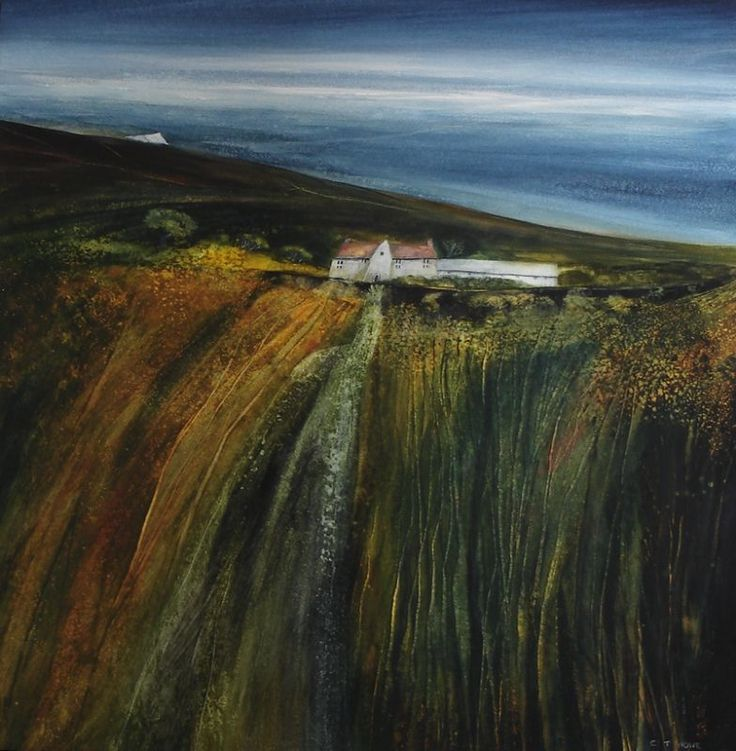 Clifftop Retreat   -   CLIFF HOWE - Artist