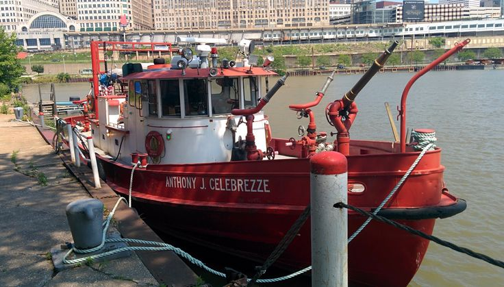 Anthony J. Celebrezze Fire Boat is assigned to Cleveland