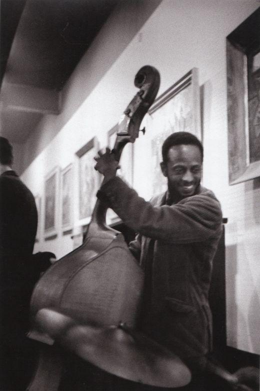 Percy Heath at the Coffee Gallery, San Francisco, 1960.