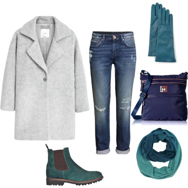 A fashion look from November 2015 featuring MANGO coats, H&M jeans and Tommy Hilfiger messenger bags. Browse and shop related looks.