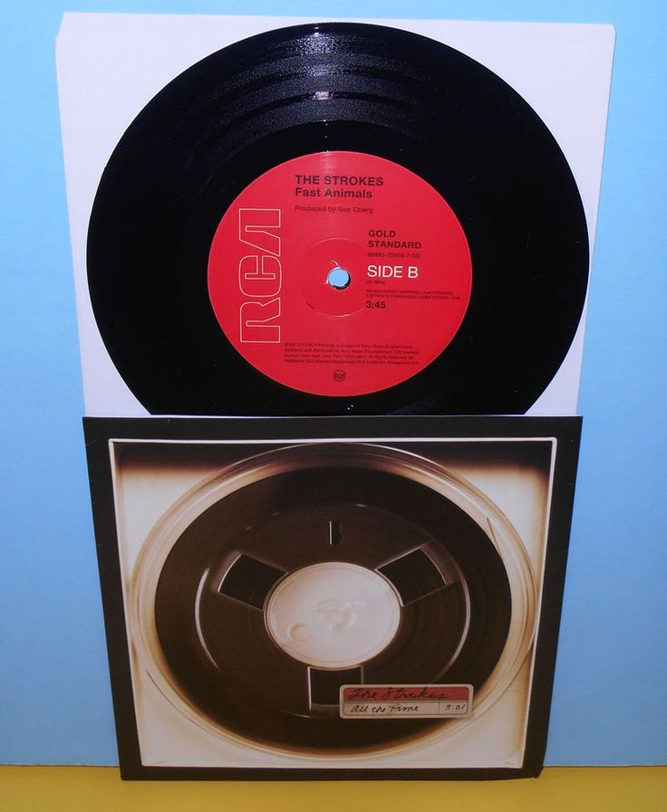 The Strokes All The Time Fast Animals 7 Quot Record Vinyl