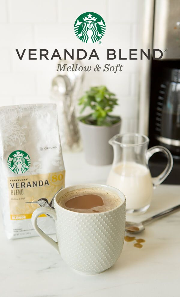 Mellow and flavorful with a nice softness, Veranda was inspired by the verandas of Latin American coffee farms. In a sip it transports you to a family-run coffee farm overlooking the lush beautiful landscape. Light bodied with mellow flavors, it's delicious on its own and lovely with with a splash of cream.