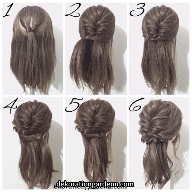 #Cute#Easy#Hairstyle in 2020 | Cute prom hairstyles, Bridesmaid hair, Hair arrange