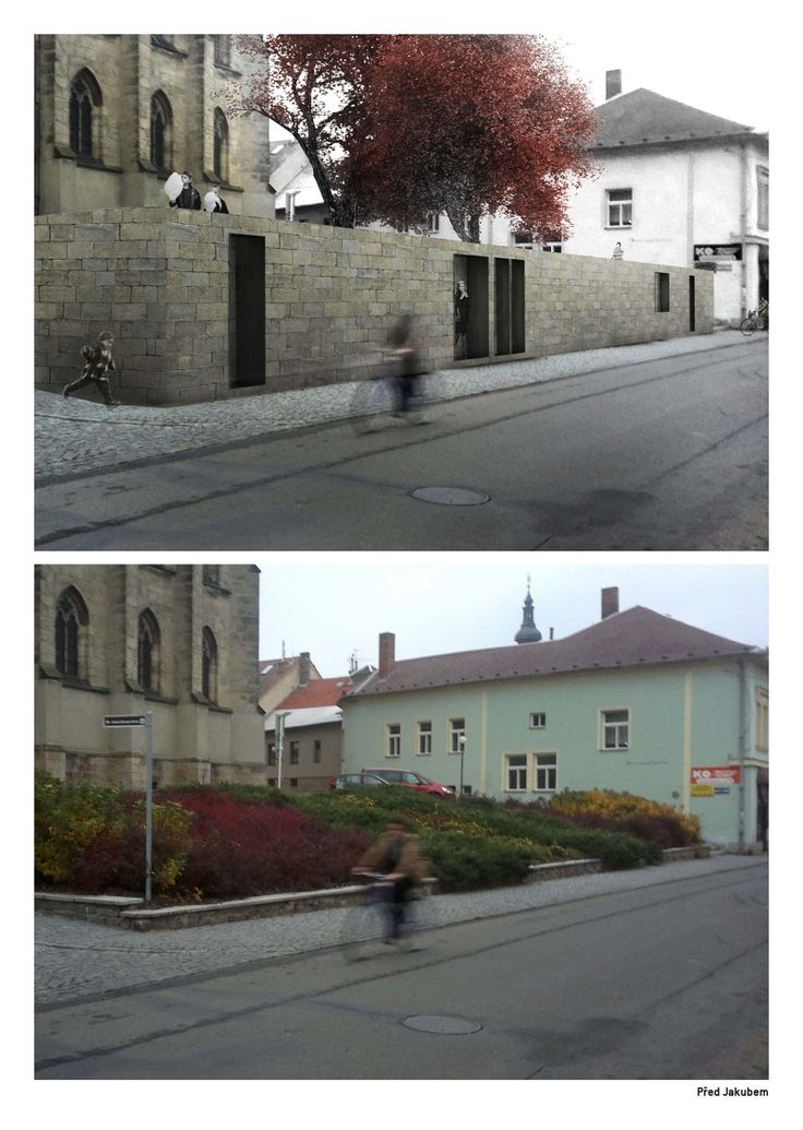 Small typologies in a small city - Tereza Scheibová
