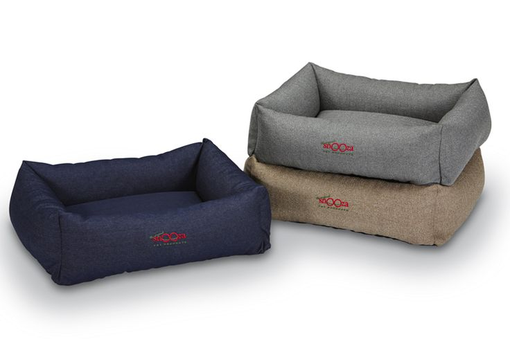 Our new Bumper Bed comes in 3 vintage fabrics - classic denim, pewter & tweed.