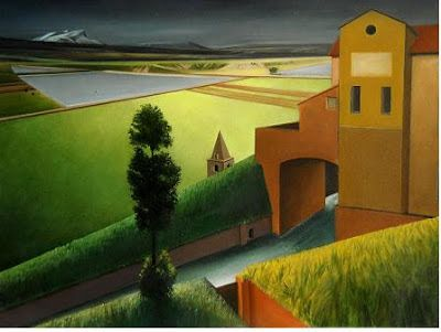Roggia - olio su tavola - 80 x 60 cm (2007)