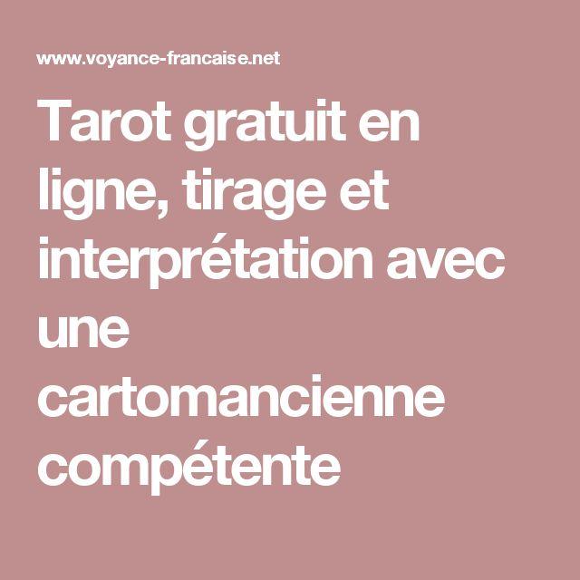 Tarot gratuit en ligne, tirage et interprétation avec une cartomancienne compétente
