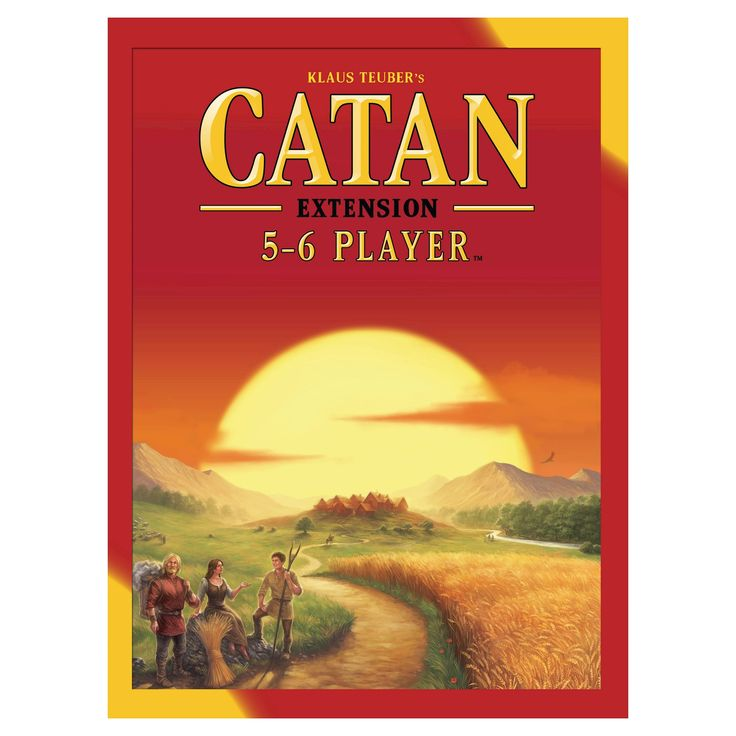 Catan Board Game 5-6 Player Expansion Pack