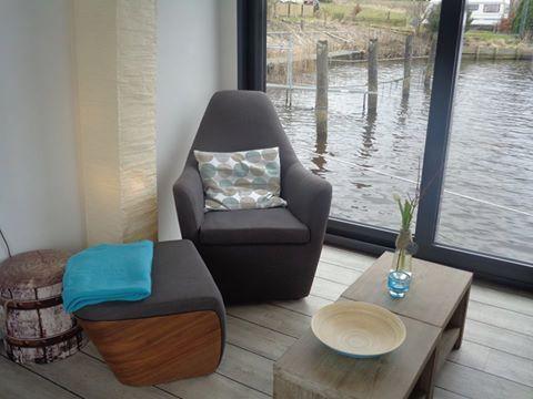 Sooo gemütlich ist es in unseren Hausbooten! Der perfekte Platz zum entspannen! ♥