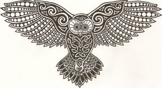 Celtic Owl Photo: This Photo was uploaded by Taliesin71. Find other Celtic Owl pictures and photos or upload your own with Photobucket free image and vi...