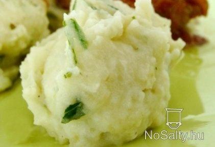 Fokhagymás krumplipüré