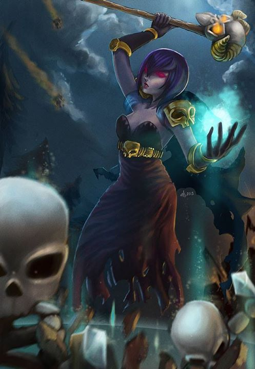 Clash of Clans :: Witch by kaecee #clashroyale #clashershq