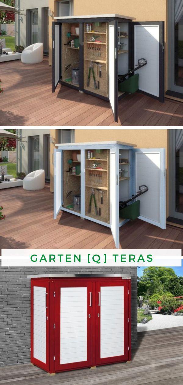 Aufbewahrung Garten Weka Garten Q Teras Stauraum Ideen Aufbewahrung Garten Gerateschrank Garten Gerateschrank