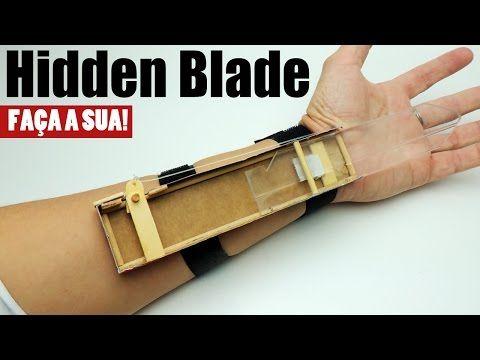 Hidden Blade Fácil e Barata - Faça a sua! - YouTube