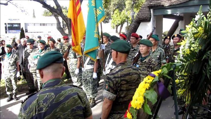 Lễ Hỏa Táng Cố Thiếu Tướng Bùi Thế Lân Phần 2