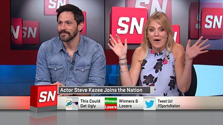 Michelle Beadle is Dating Boyfriend Steve Kazee. Couple might get Married soon
