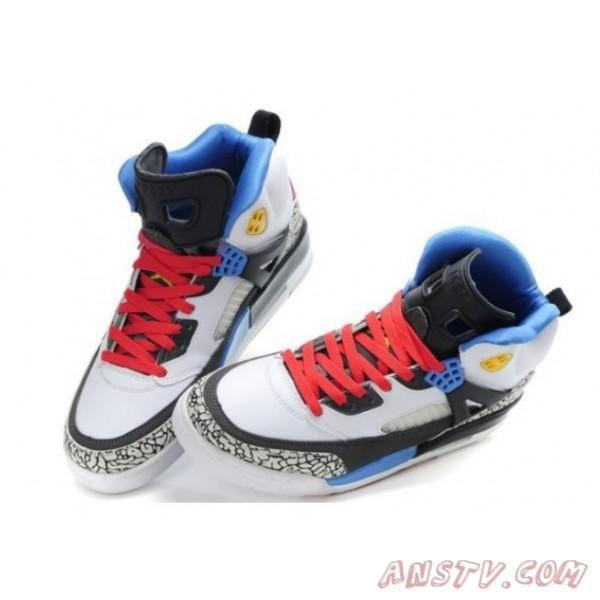 2013 Nouveau Nike Air Jordan Retro 3.5 Rouge Blanc Noir Bleu Hommes  Livraison Gratuite Air Jordan