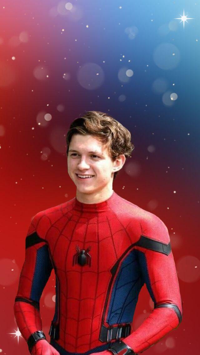 Image result for tom holland spiderman wallpaper