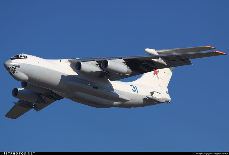 The IL-78 aircraft can refuel a most of four planes simultaneously on the ground.
