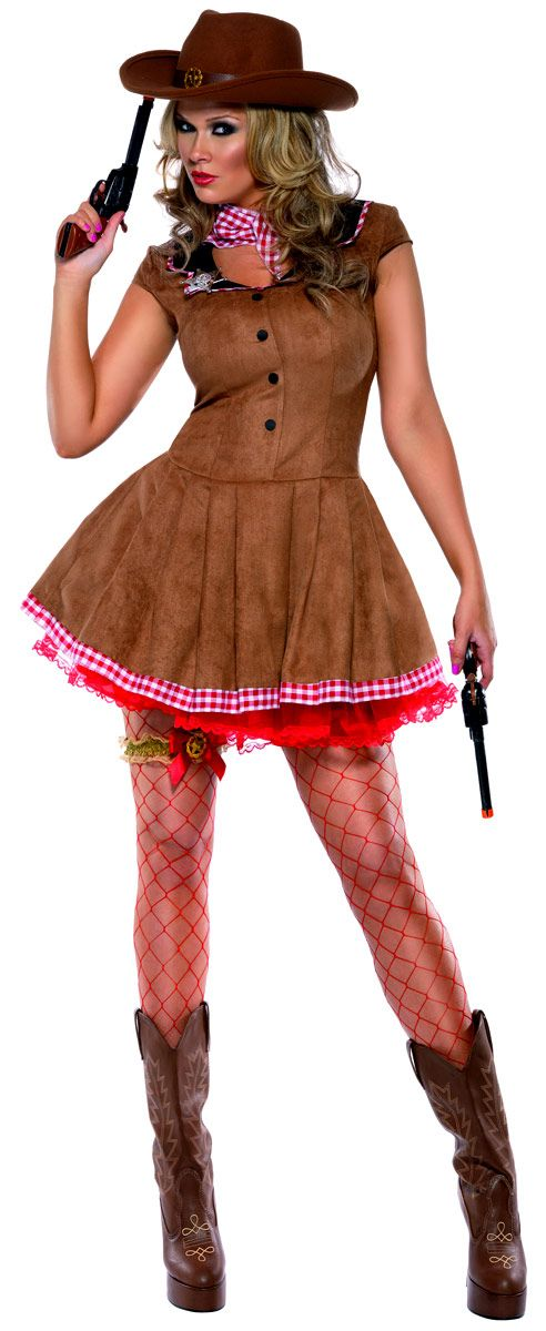 Deguisement cowgirl Costume Far West