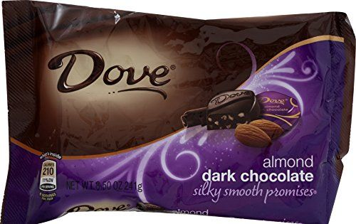 Dove Dark Chocolate Almond Promises, 8.5-Ounce Packages (Pack of 4) - http://mygourmetgifts.com/dove-dark-chocolate-almond-promises-8-5-ounce-packages-pack-of-4/