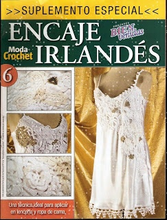 Dream and Do It Yourself: Irish Crochet / Encaje Irlandes | crochet