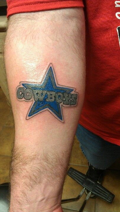 78 best tattoos images on pinterest for Dallas cowboys star temporary tattoos