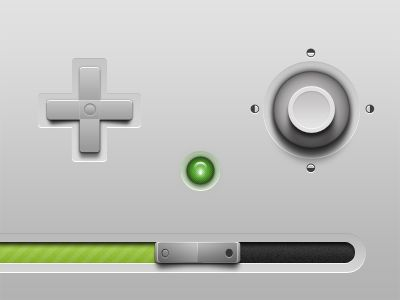 Joystick/gamepad style UI elements