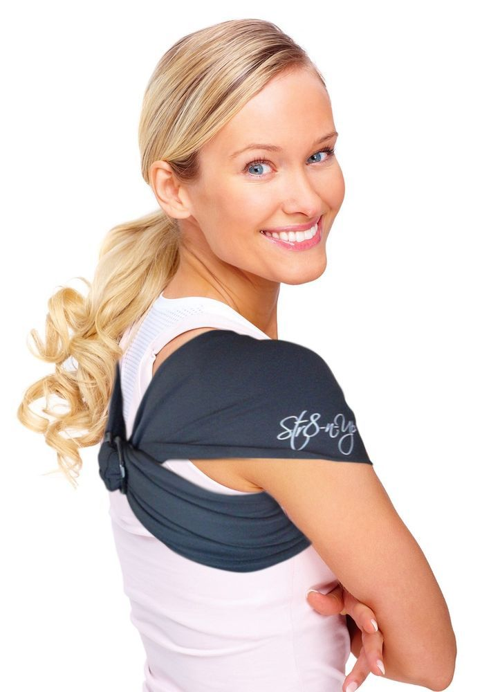 STR8-N-UP Correct Posture BACK SUPPORT Gentle Massage No Hunch Stress Relief  #Str8nup  SIZES FROM XS - XL CHIROPRACTOR RECOMMENDED