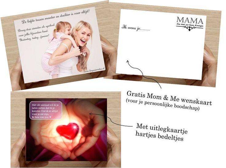 Kaya Sieraden Set moeder dochter armbanden Flower - Ikbenzomooi.nl