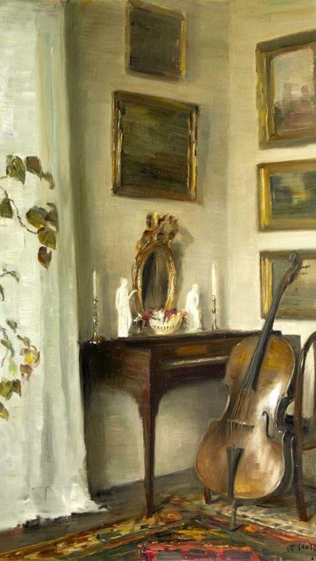 492 best art interiors images on pinterest art for Carl stuer interieur
